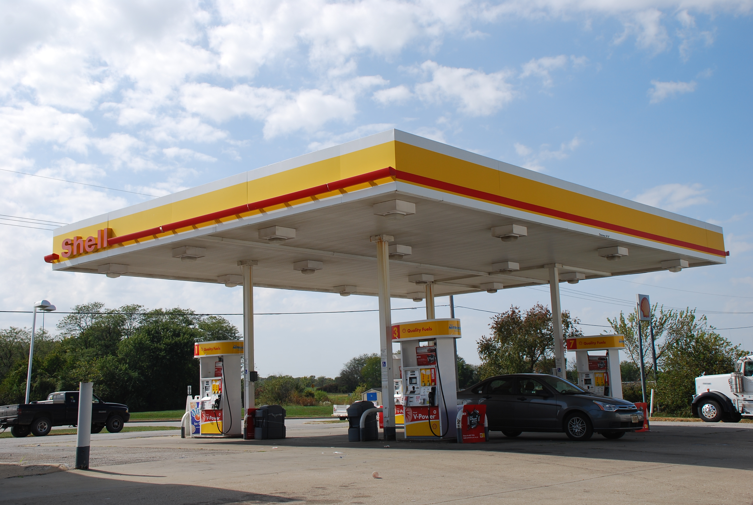 Shell Gas Station C Store Net Lease Commercial Real Estate